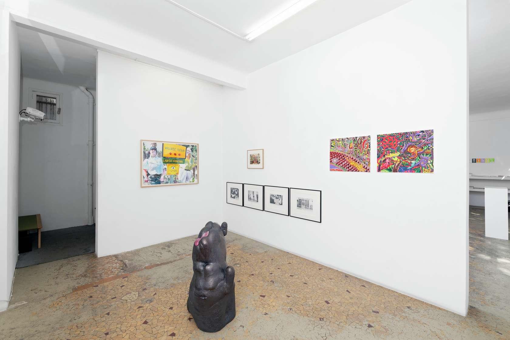 Steve Gianakos, Taroop & Glabel & Willem Topor n'est pas mort (group) - Galerie Anne Barrault - Paris Semiose 7 septembre  — 26 octobre 2019