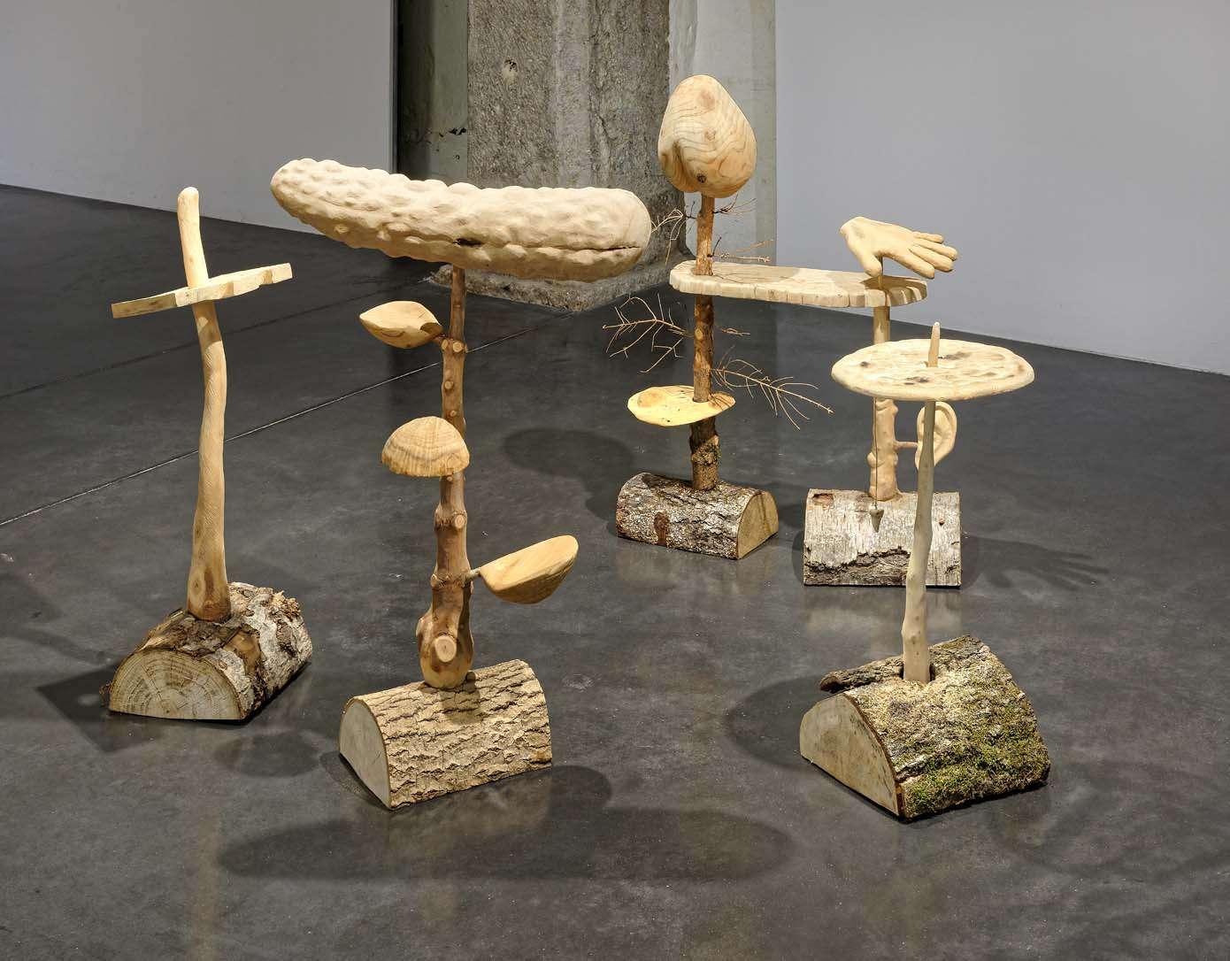 Laurent Le Deunff Animaux fabuleux, créatures imaginaires La Halle des bouchers, centre d'art contemporain, Vienne (FR) 16 mars  — 22 septembre 2019