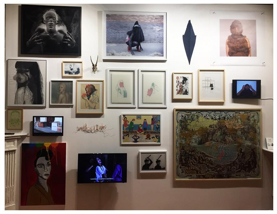 Françoise Pétrovitch Décoloniser les corps Eternal Gallery, Tours (FR) 26 janvier  — 3 mars 2019