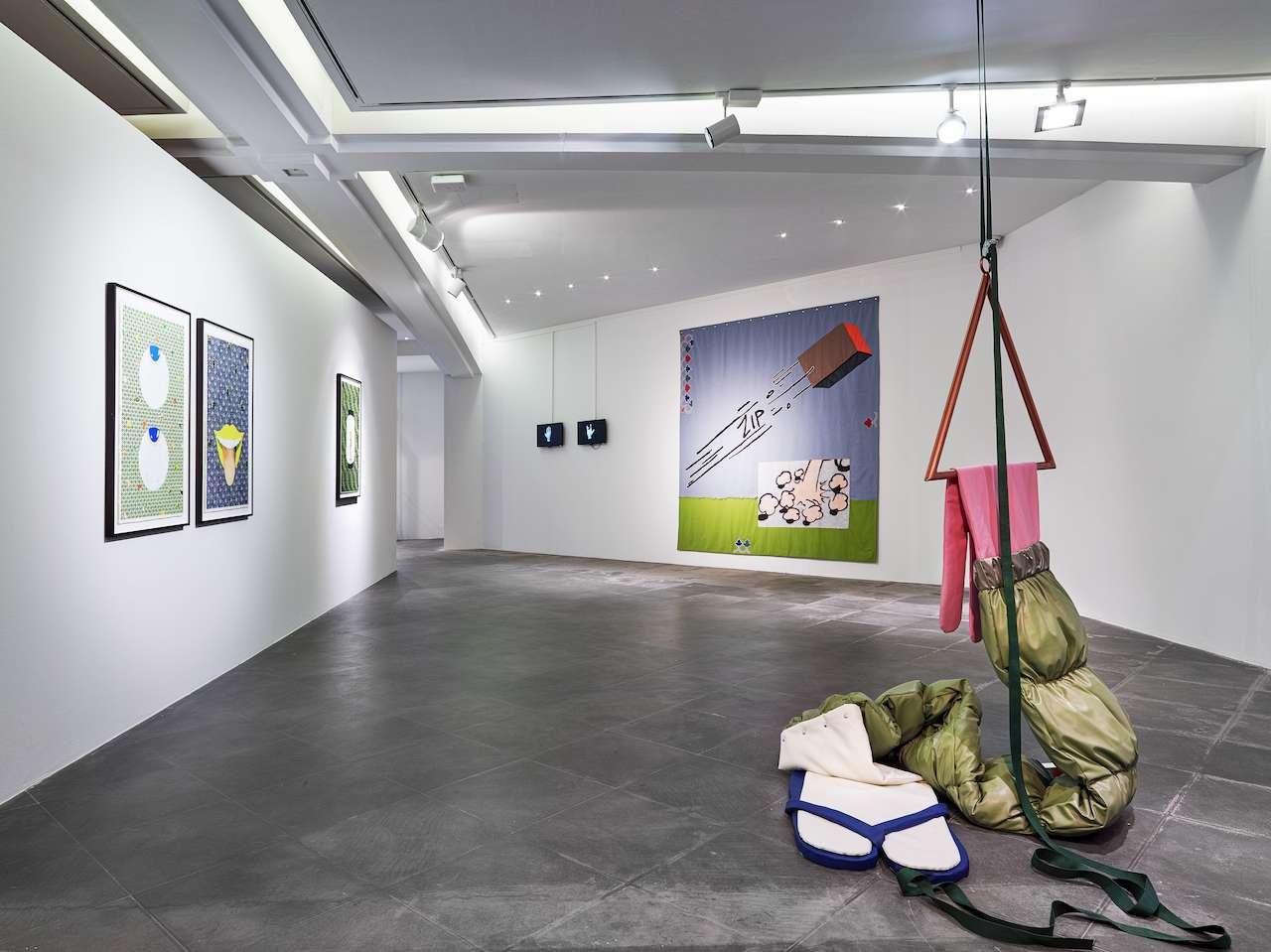 Vue de l'exposition Hippolyte Hentgen. Le Bikini Invisible 16 mai - 10 novembre 2019. MAMAC, Nice © Hippolyte Hentgen, 2019 - Photo: François Fernandez