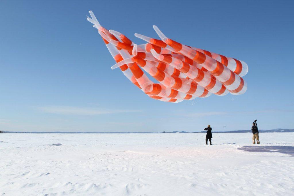 Thomas Lanfranchi Ciel de neige Vaste et Vague, Carleton-sur-mer, Québec (CA) 4 février  — 1er mars 2019