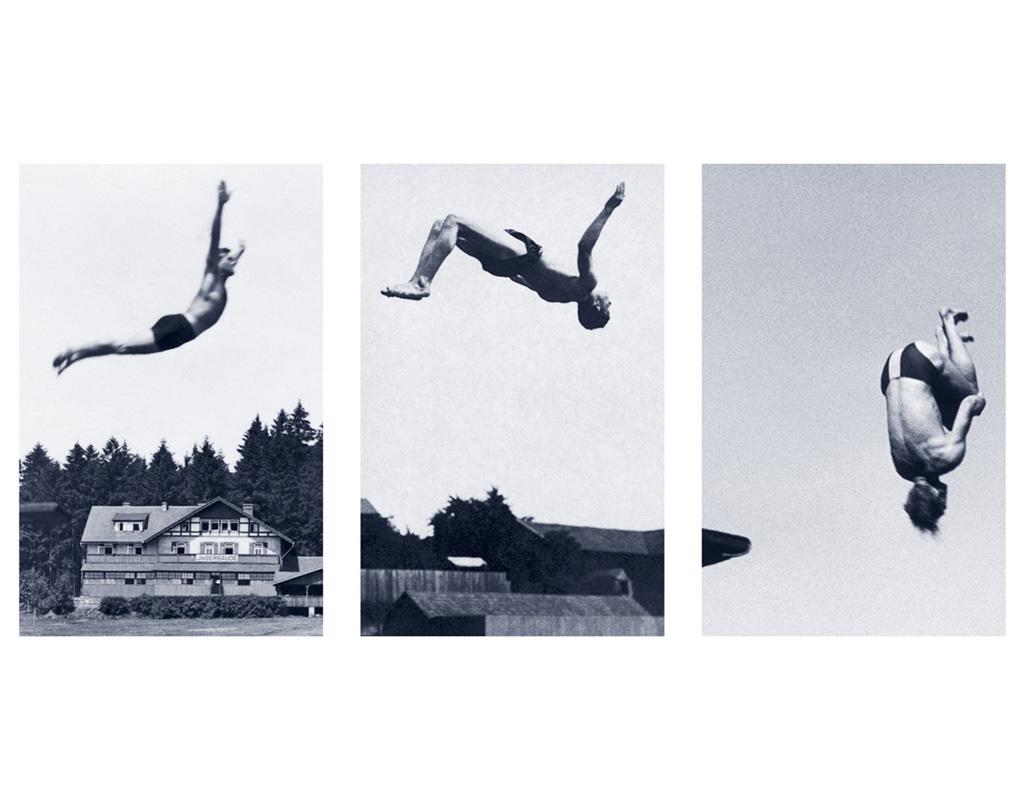 documentation céline duval Le libre choix, 2011 Encre et polymère sur PET 129,5 x 85 cm (x3) Collection du Frac Auvergne, Clermont-Ferrand (FR)
