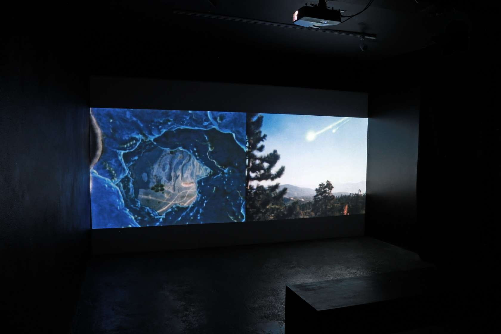 Salvatore Arancio, We Are a Way to Know Itself, 2012, looped video with sound 3' 25''