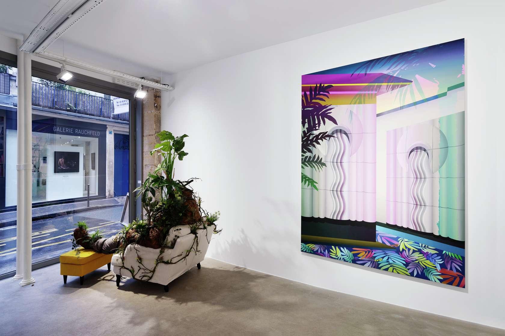 Amélie Bertrand Jungle Fever Galerie George Philippe et Nathalie Vallois, Paris (FR) 10 janvier  — 16 février 2019