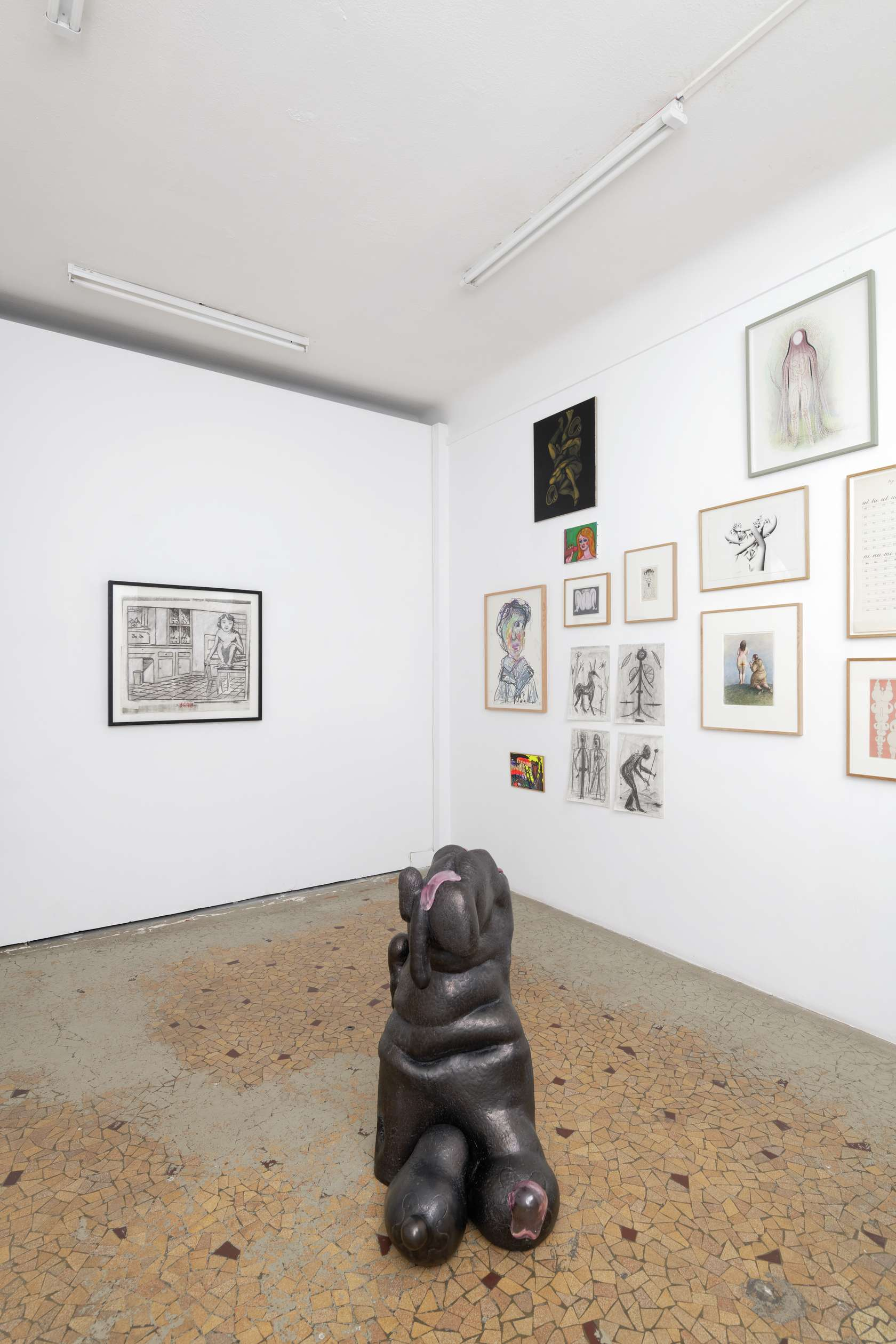 Topor n'est pas mort, Galerie Anne Barrault, Paris (FR) September 25 - October 27, 2019 © A. Mole
