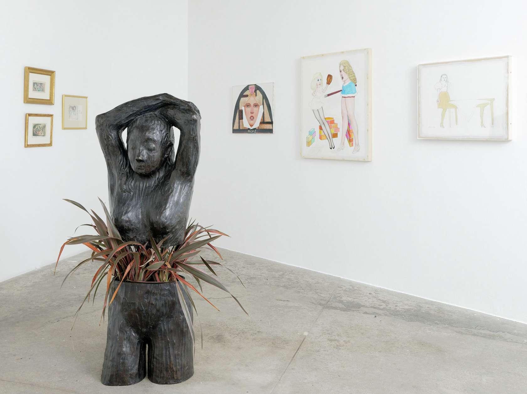 Françoise Pétrovitch La maman et la putain Galerie Georges Philippe & Nathalie Vallois 26 avril  — 27 mai 2018