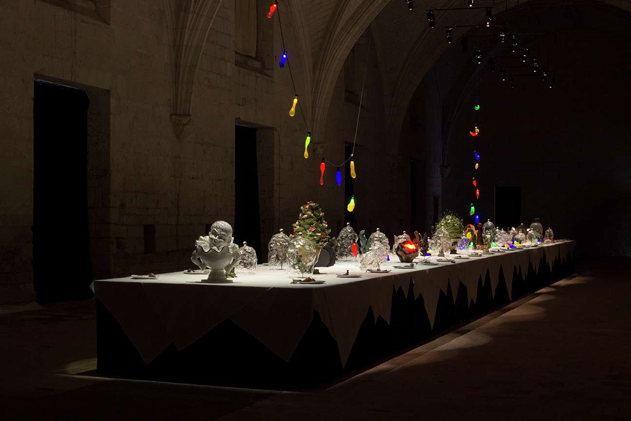 Sébastien Gouju A l'aube d'une nuit d'hiver Abbaye Royale de Fontevraud, Fontevraud l'Abbaye (FR) 30 novembre 2019 — 5 janvier 2020