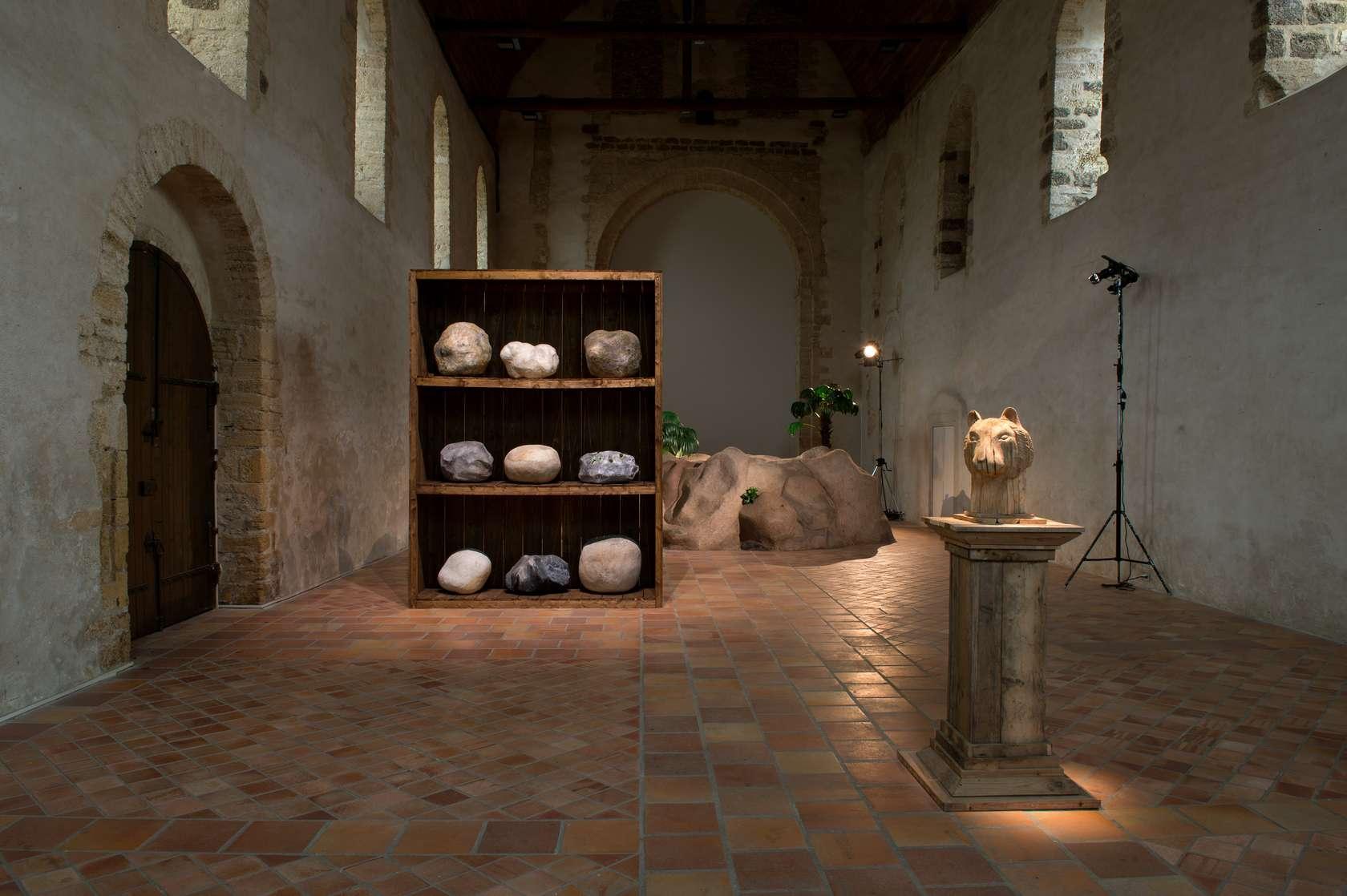 Laurent Le Deunff Stalactites et stalagmites Le Carré, Scène Nationale - Centre d'art contemporain de Château-Gontier 20 janvier  — 15 avril 2018