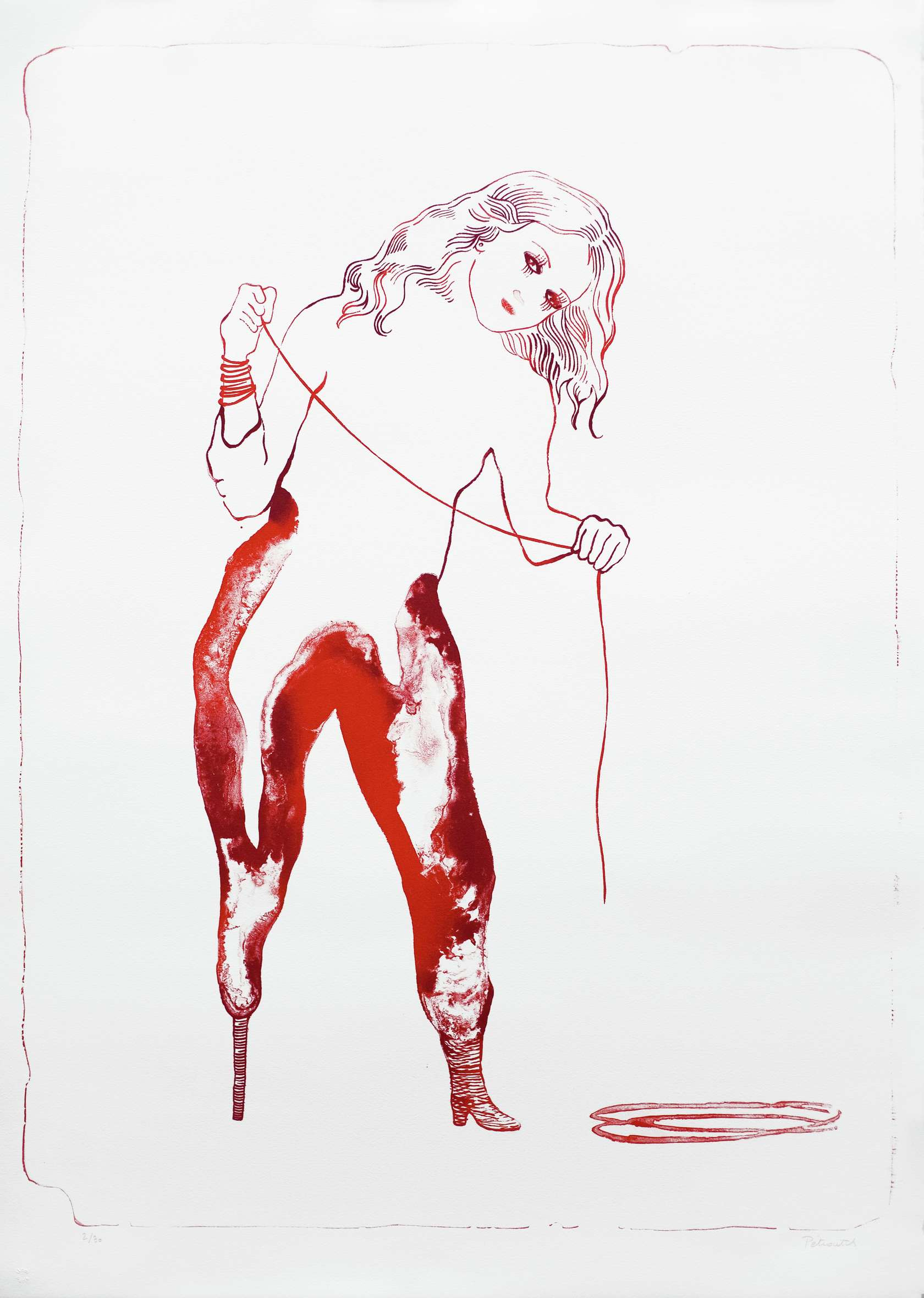 Françoise Pétrovitch Conférence - Cris et chuchotements Centre de la gravure et de l'image imprimée, La Louvrière (BE) 2 — 2 février 2020