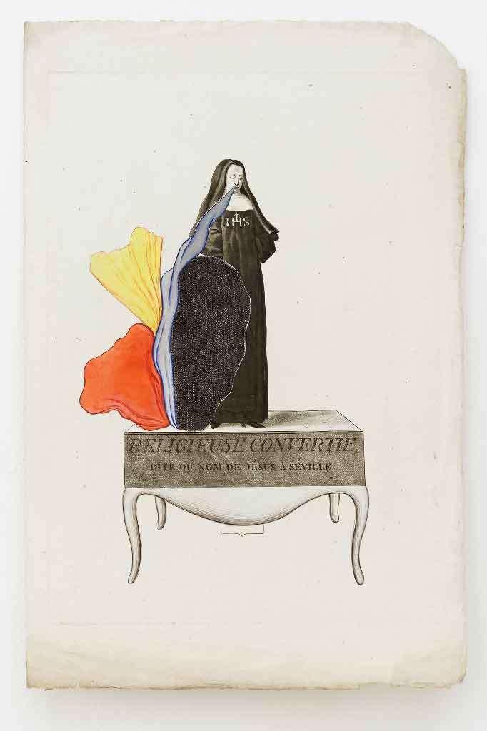 Guillaume Dégé, Religieuse convertie, 2013 Modes et Travaux, Galerie Georges Philippe & Nathalie Vallois, Paris (FR) 28 février - 11 avril 2020