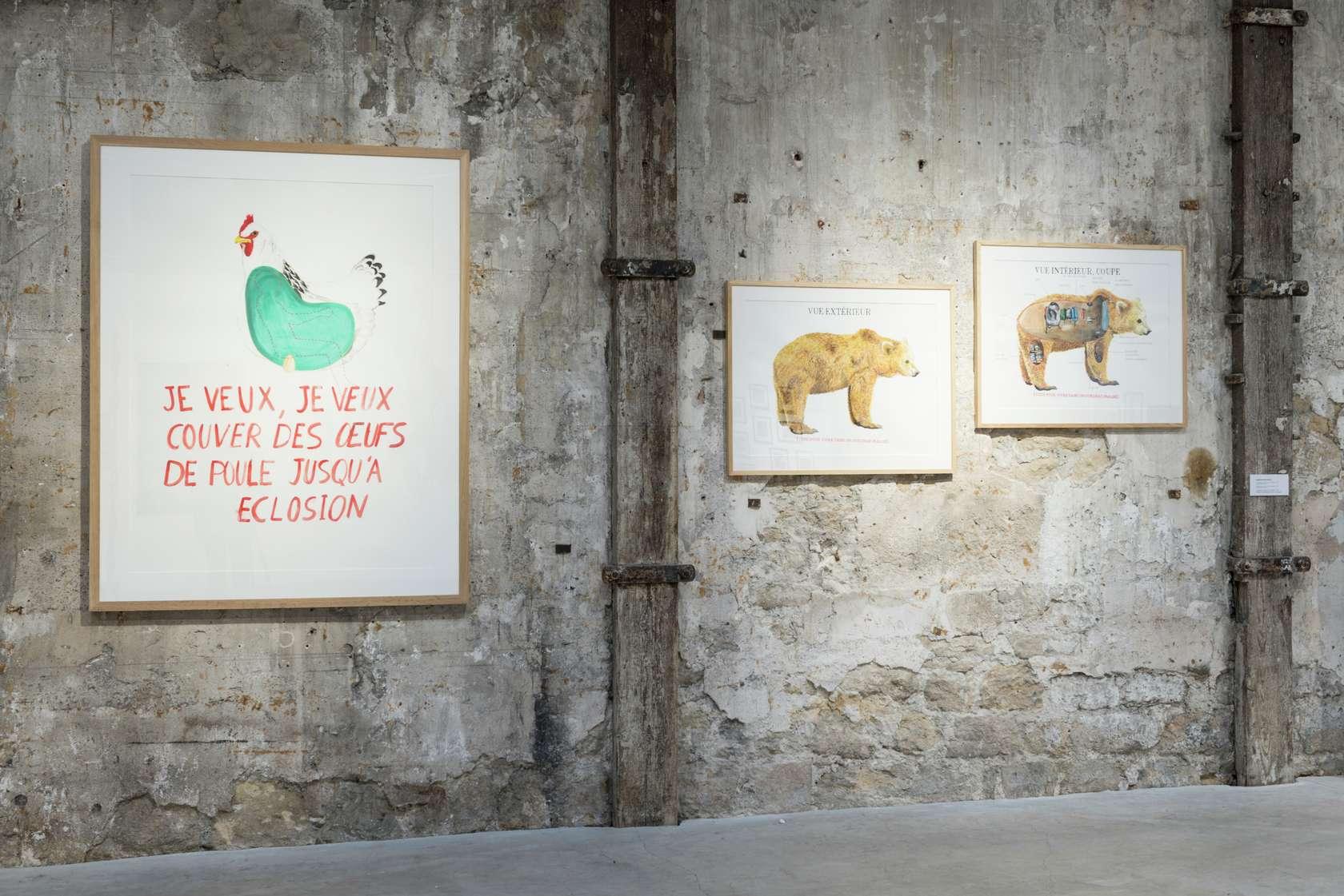 Abraham Poincheval Humanimalismes Topographie de l'Art, Paris (FR) 8 février  — 18 juillet 2020