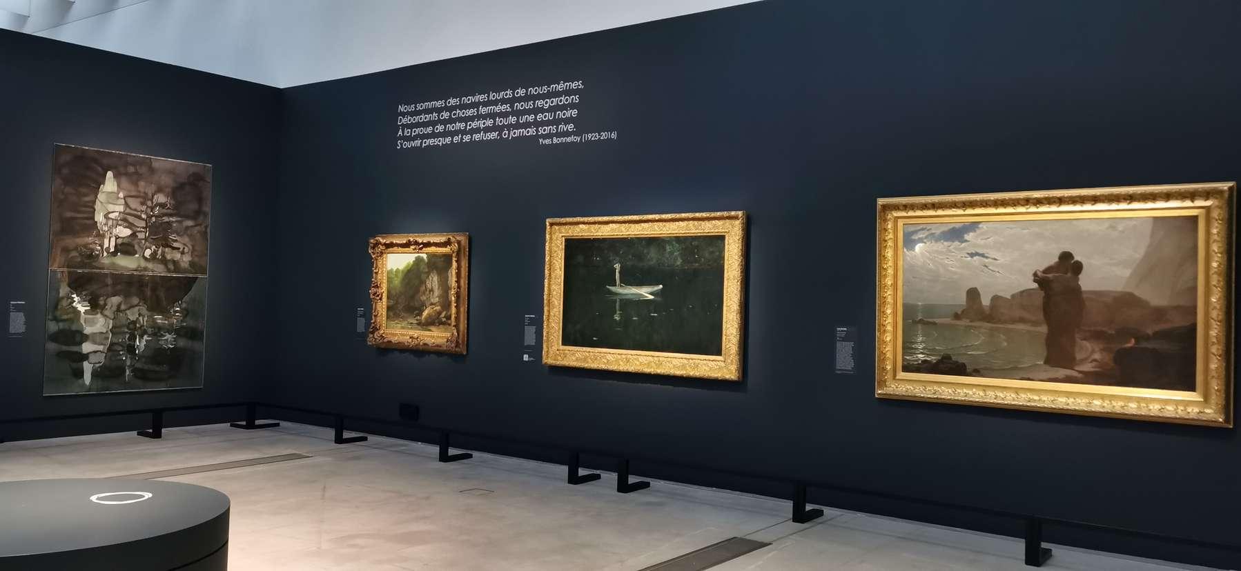 Françoise Pétrovitch, Île, 2019 Soleils noirs, Louvre-Lens, Lens (FR) 10 juin 2020 - 25 janvier 2021 © Antoine Olech