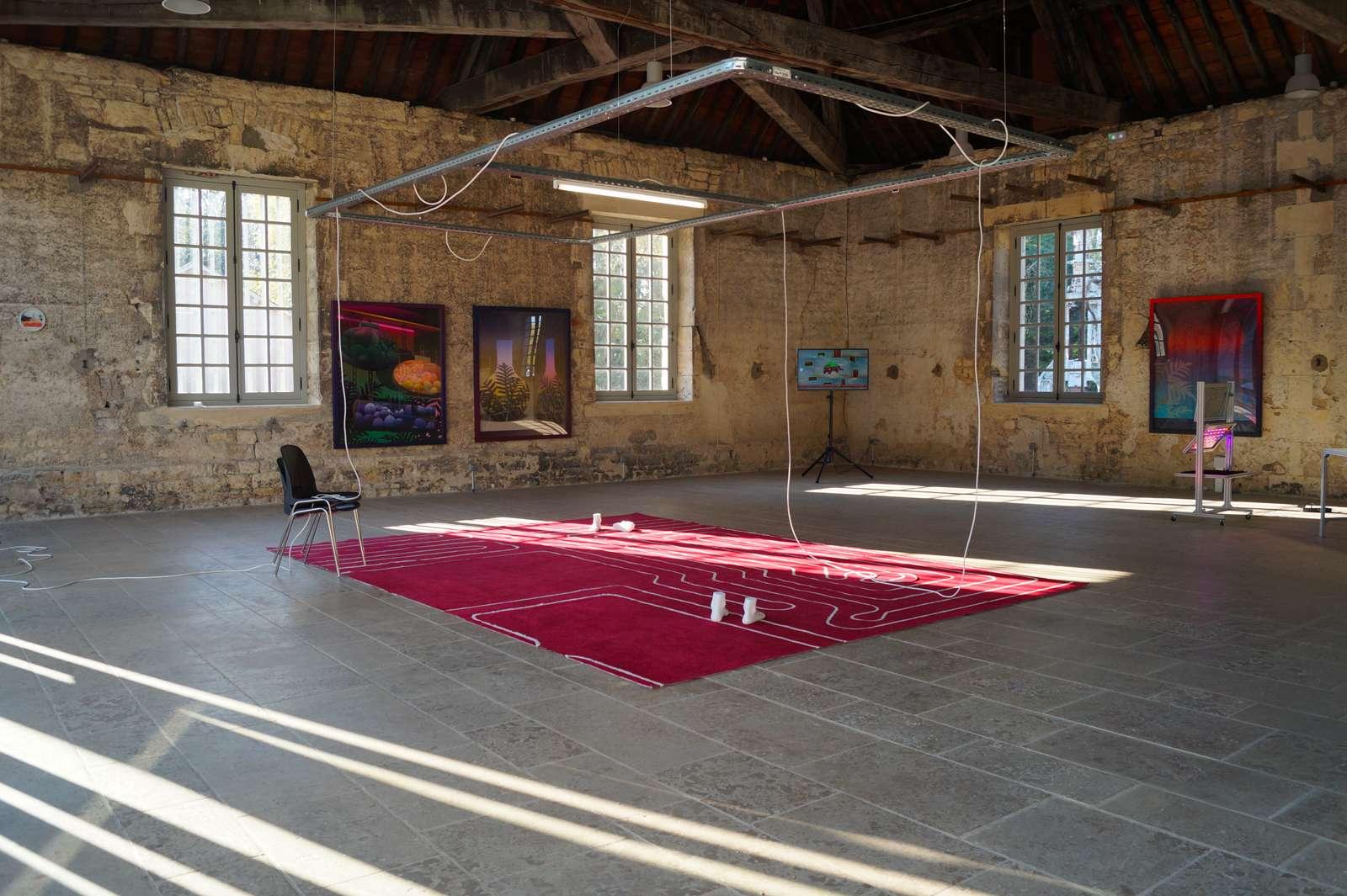 Amélie Bertrand Espaces liquides Le Parc Saint Léger, Centre d'art contemporain, Guériny (FR) 2 — 29 novembre 2018