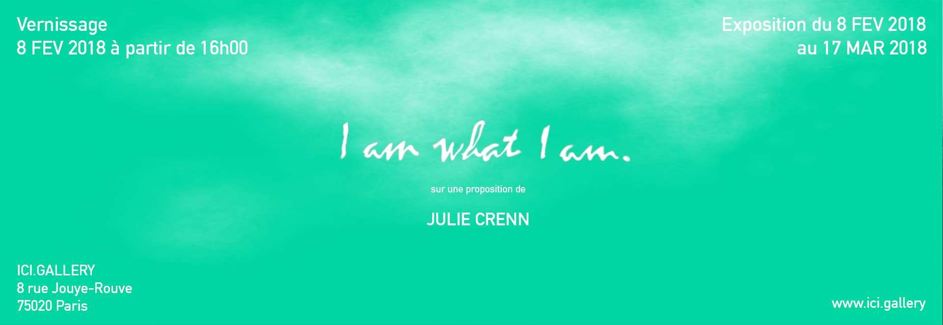 Françoise Pétrovitch I am what I am ICI GALLERY, Paris (FR) 9 février  — 17 mars 2018