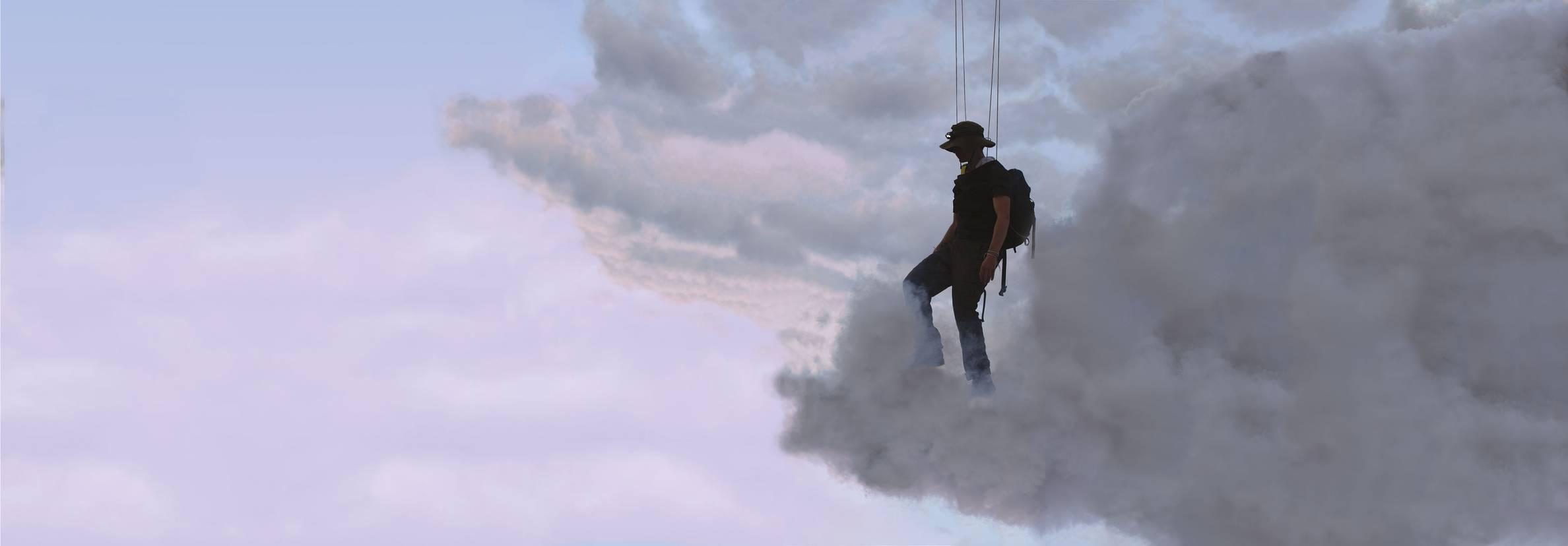 Abraham Poincheval, Walk on Clouds, 2020 Ruche - Hive, Abraham Poincheval, Marseille (FR) 11 septembre - 29 novembre 2020
