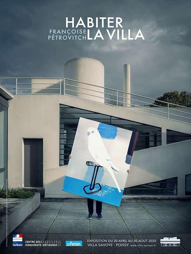 Françoise Pétrovitch Habiter la Villa, Françoise Pétrovitch Villa Savoye, Poissy (FR) 18 septembre 2020 — 24 janvier 2021