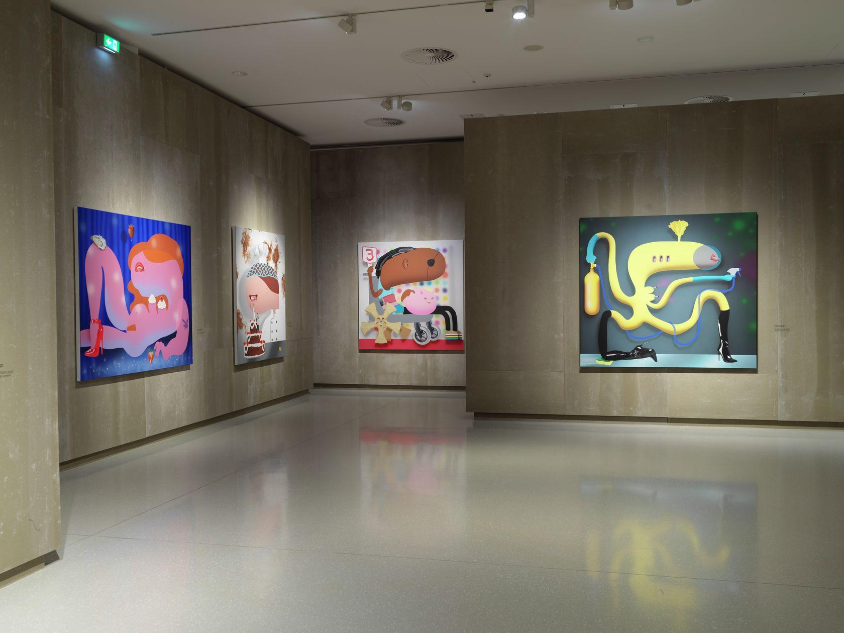 Oli Epp Friends and Friends of Friends Schlossmuseum, Linz (AT) 30 septembre 2020 — 6 janvier 2021