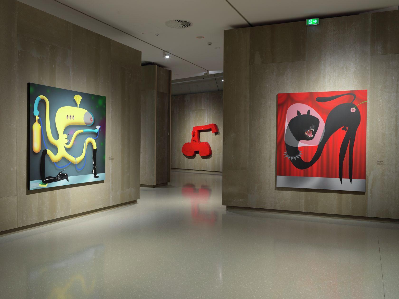 Oli Epp, Friends and Friends of Friends, Schlossmuseum, Linz (AT) 30 septembre 2020 - 6 janvier 2021 © Michael Maritsch