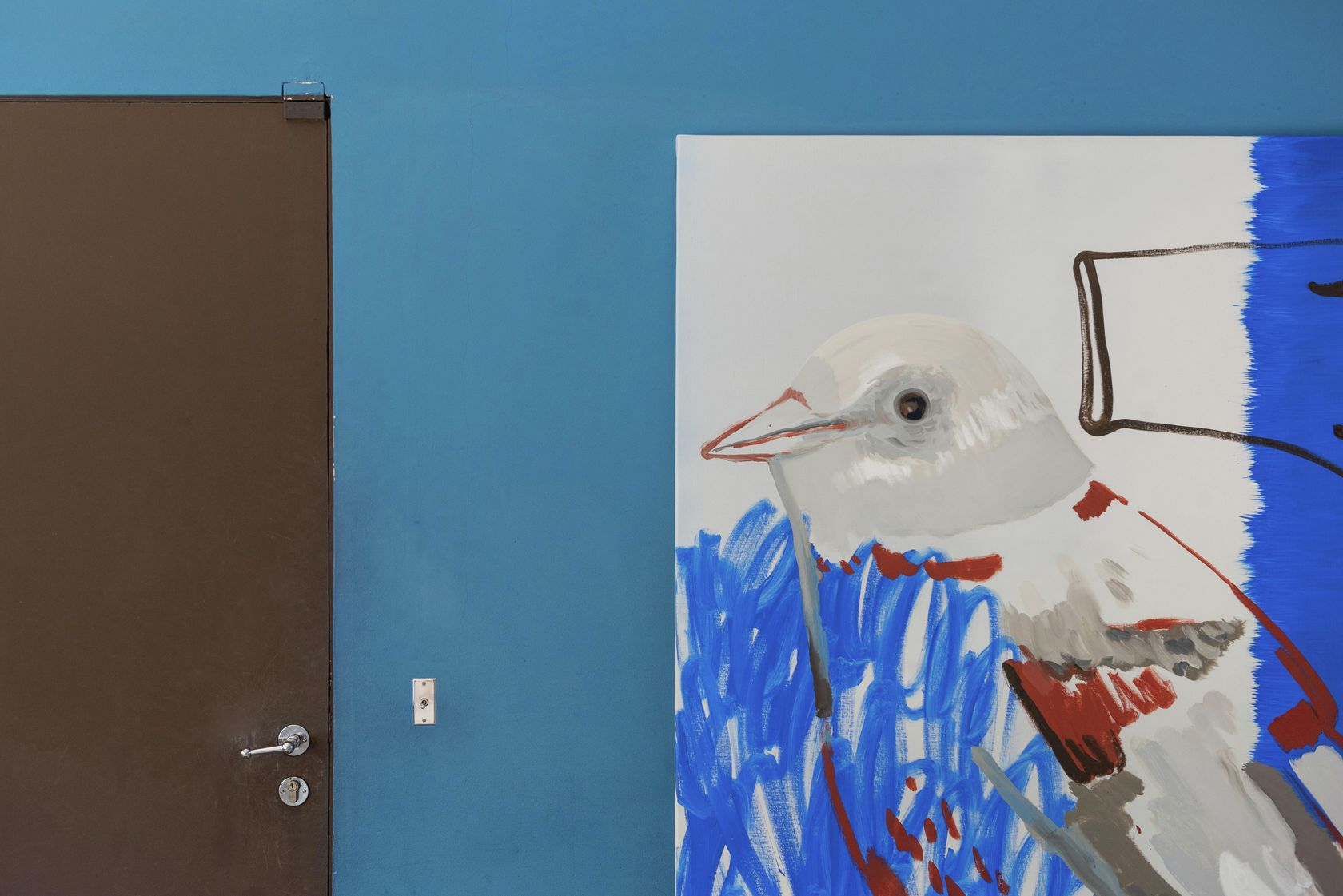 Françoise Pétrovitch, Oiseau-gant, 2019 Habiter la Villa, Villa Savoye, Poissy (FR) 18 septembre 2020 - 24 janvier 2021 © Hervé Plumet