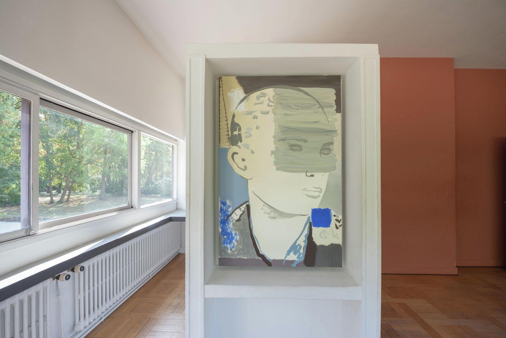Françoise Pétrovitch, Adolescent, 2019 Habiter la Villa, Villa Savoye, Poissy (FR) 18 septembre 2020 - 24 janvier 2021 © Hervé Plumet