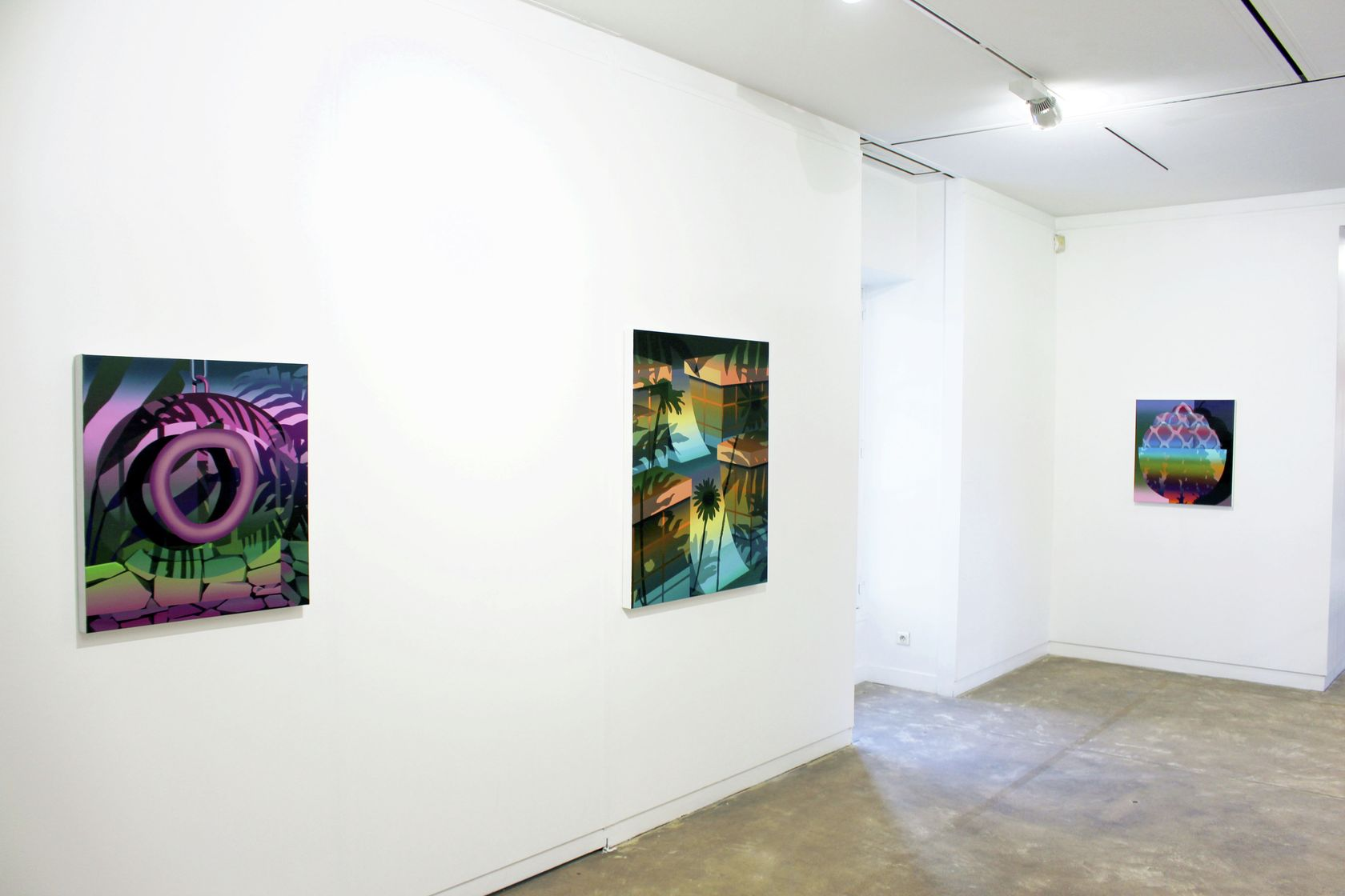 Amélie Bertrand, Picturalité(s), Maison des arts, centre d'art contemporain de Malakoff, Malkoff (FR) 26 septembre - 13 décembre 2020 © maison des arts centre d'art contemporain de Malakoff