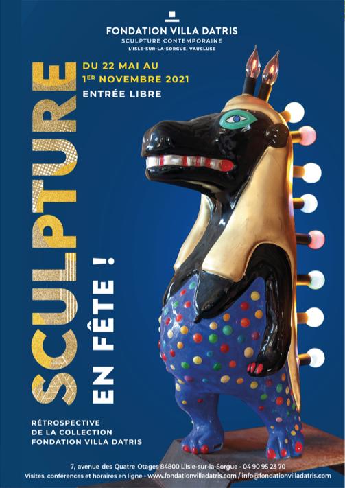 Sculpture en fête, Fondation Villa Datris, L'Isle-sur-la-Sorgue (FR)