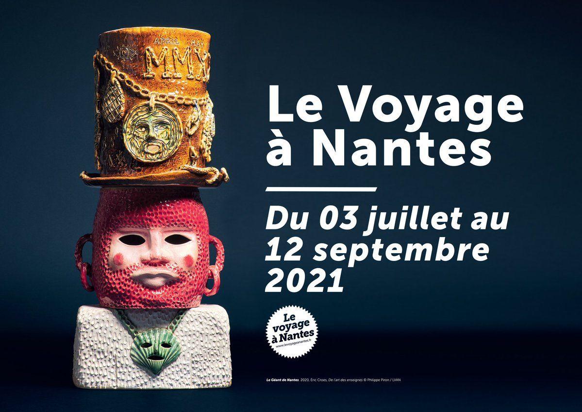 Amélie Bertrand & Laurent Le Deunff Le Voyage à Nantes Nantes (FR) 3 juillet  — 12 septembre 2021