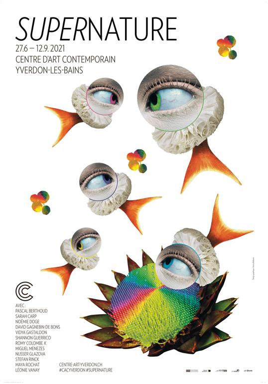 Stefan Rinck SUPERNATURE Centre d'Art Contemporain, Yverdon- les-Bains (CH) 27 juin  — 12 septembre 2021