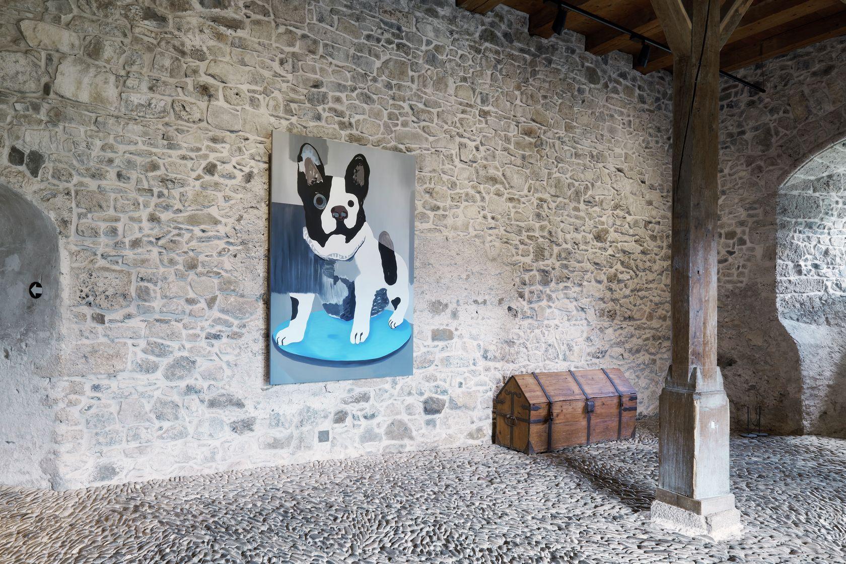 Françoise Pétrovitch, Sans titre, 2020 À bruits secrets, Château de Gruyères, Gruyères (CH) July 10 - October 17, 2021 ©Daniela &Tonatiuh