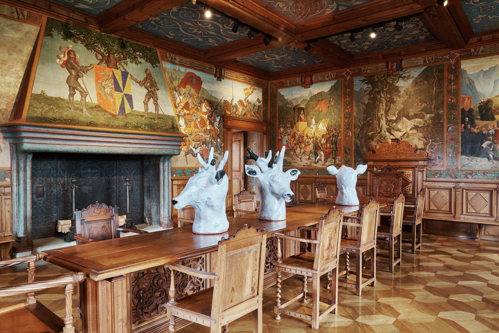 Françoise Pétrovitch, Yls, 2005 À bruits secrets, Château de Gruyères, Gruyères (CH) July 10 - October 17, 2021 ©Daniela &Tonatiuh