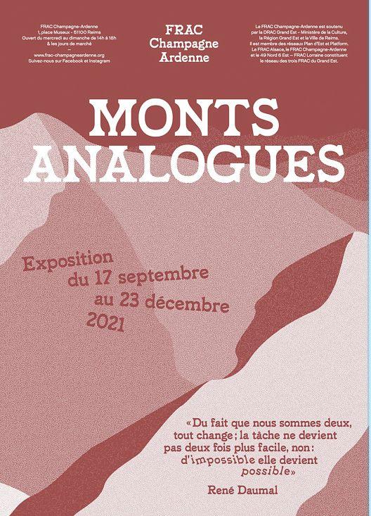 Julien Tiberi Mont Analogue FRAC Champagne-Ardenne, Reims (FR) 17 septembre  — 23 décembre 2021