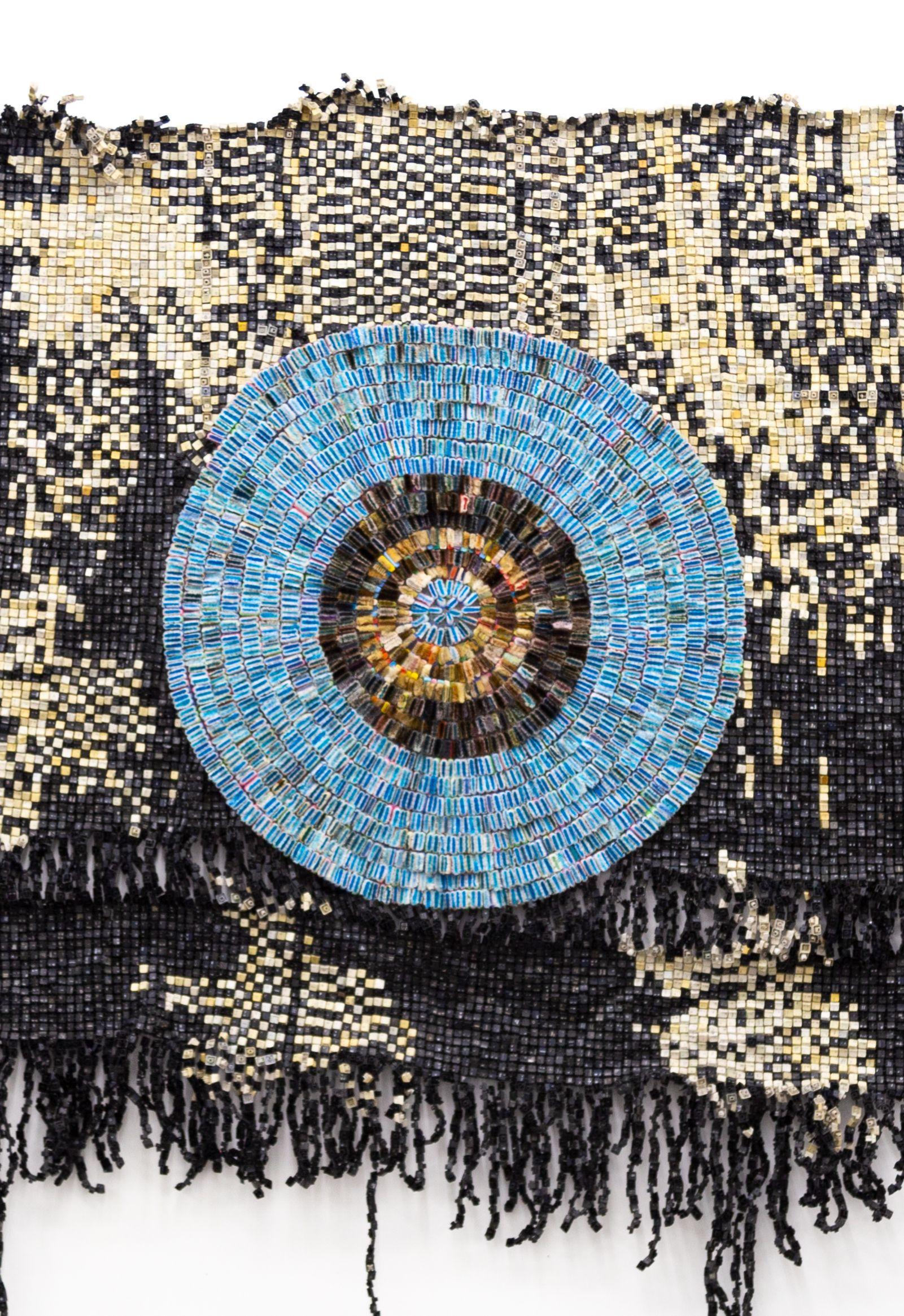 Moffat Takadiwa, Three little witches, 2021 Witch Craft : Rethinking Power, Craft Contemporary, Los Angeles (US) 3 octobre 2021 - 9 janvier 2022 Photo: Moffat Takadiwa